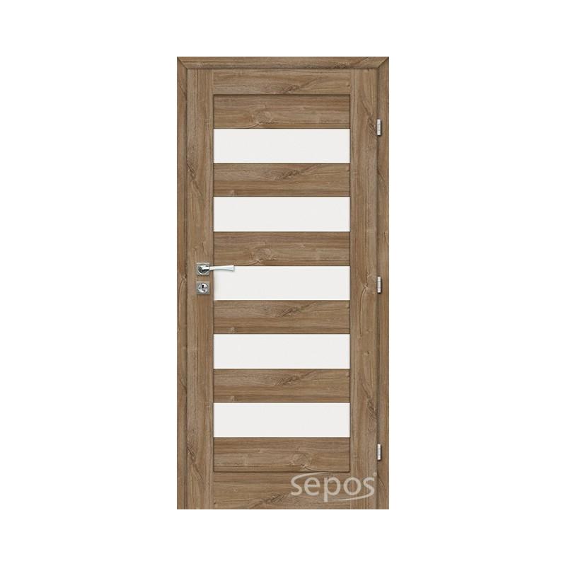 dvere rámové  ALFA + zárubňa